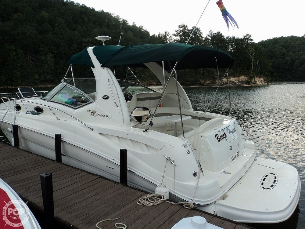 2003 Sea Ray boat for sale, model of the boat is 320 Sundancer & Image # 3 of 32