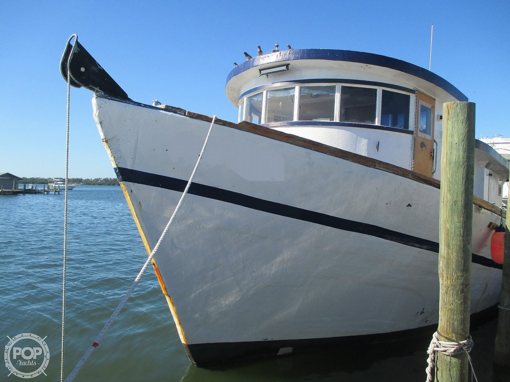 1989 Custom boat for sale, model of the boat is 62 & Image # 2 of 40