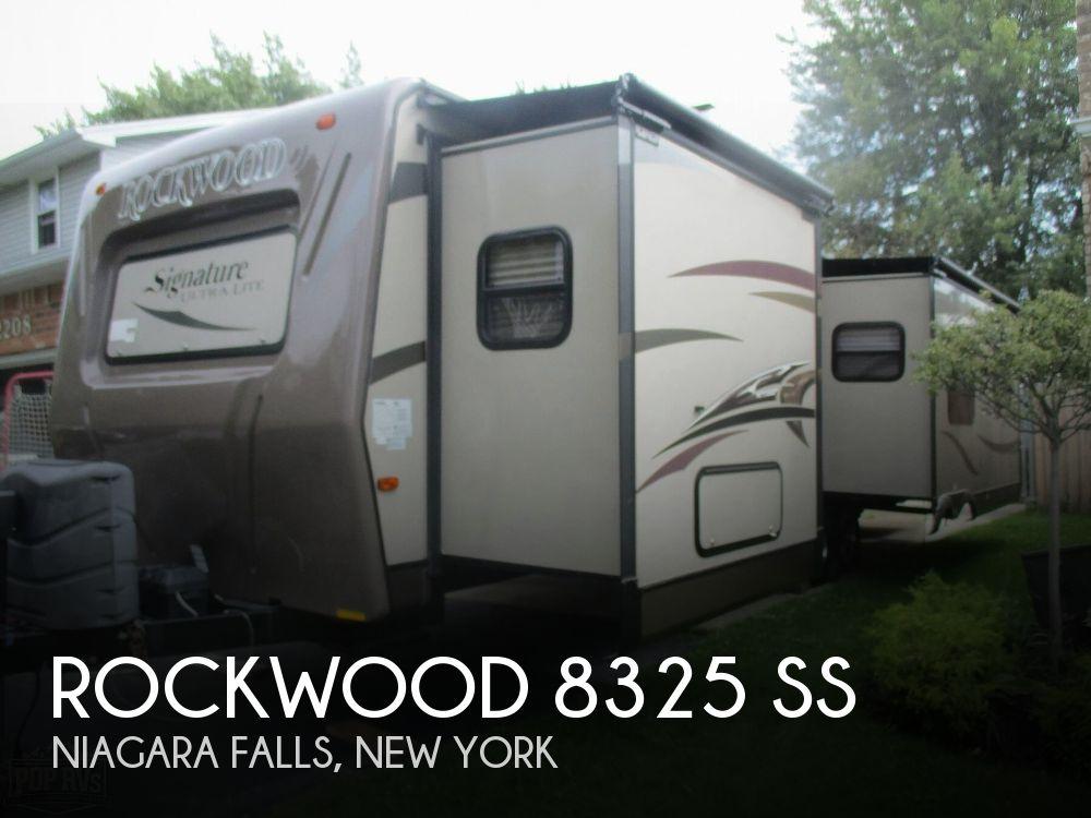 2014 Forest River Rockwood 8325 SS