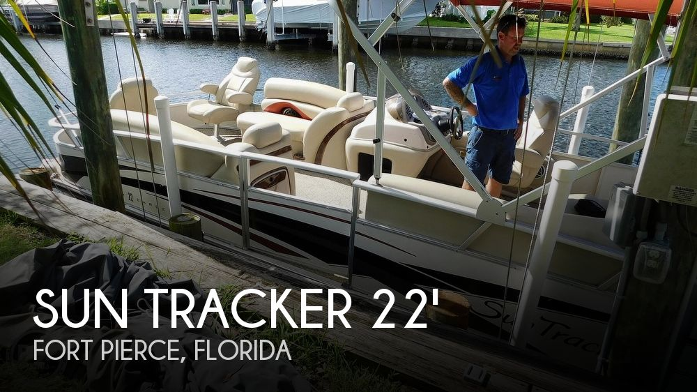 Used Pontoon Boats For Sale by owner | 2008 Sun Tracker Party Barge 22