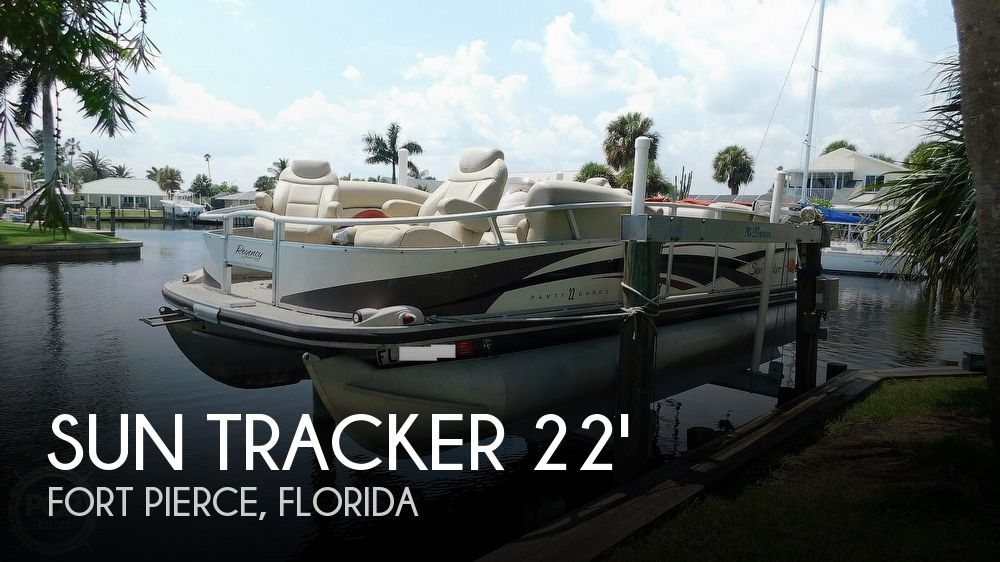 2008 Sun Tracker boat for sale, model of the boat is 22 Party Barge Regency Edition & Image # 1 of 41
