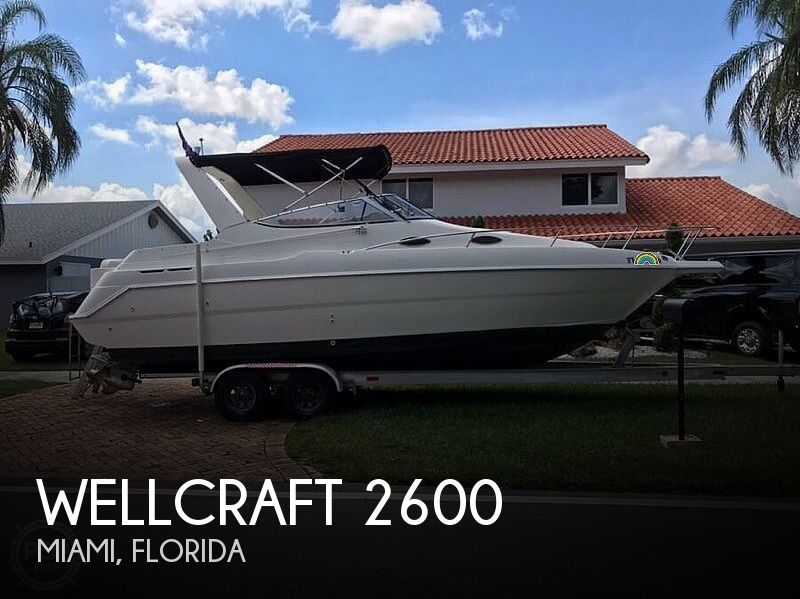 Used Power boats For Sale by owner | 2000 Wellcraft Martinique 2600
