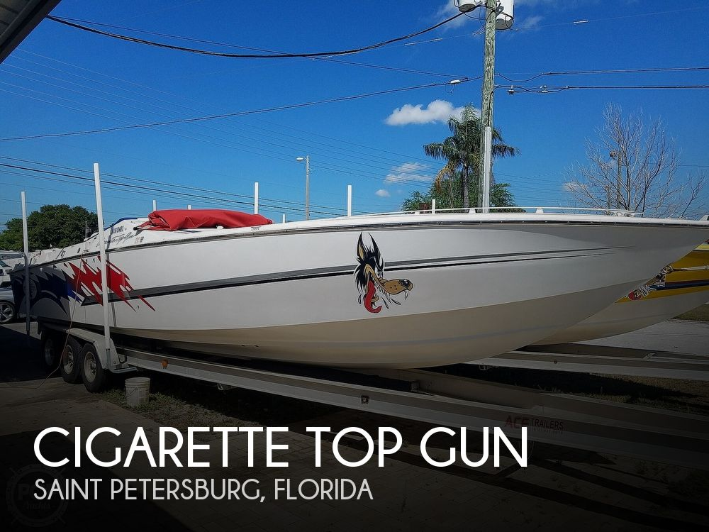 1996 Cigarette boat for sale, model of the boat is Top Gun & Image # 1 of 40