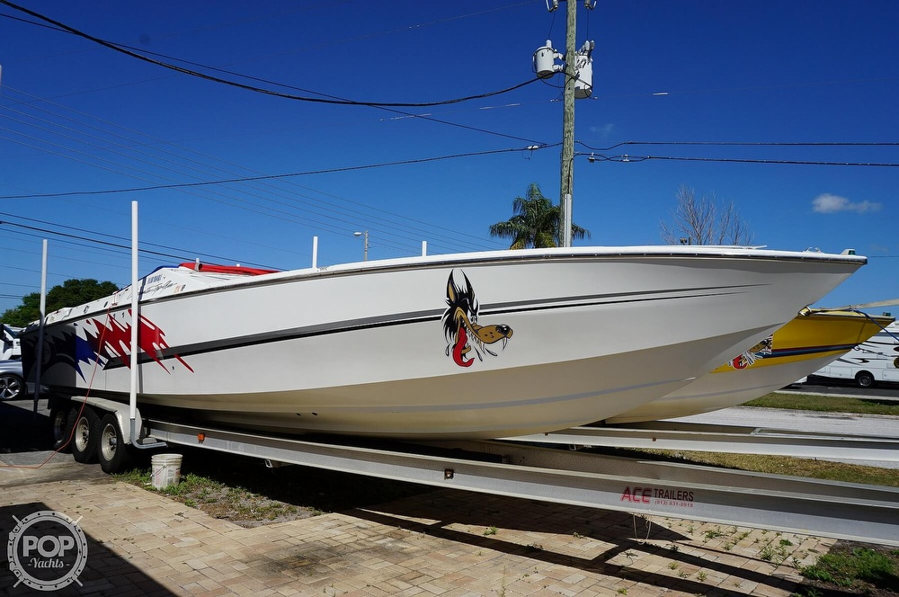 1996 Cigarette boat for sale, model of the boat is Top Gun & Image # 19 of 40