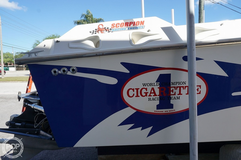 1996 Cigarette boat for sale, model of the boat is Top Gun & Image # 33 of 40