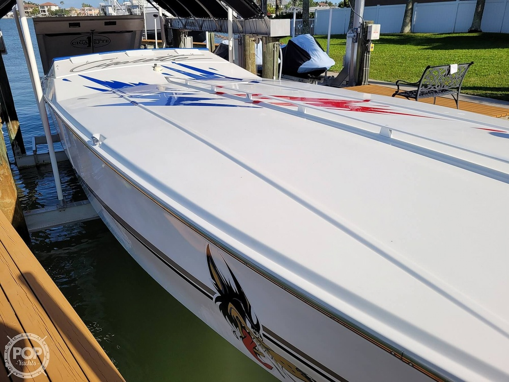 1996 Cigarette boat for sale, model of the boat is Top Gun & Image # 7 of 40