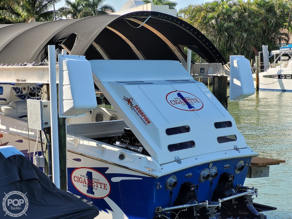 1996 Cigarette boat for sale, model of the boat is Top Gun & Image # 10 of 40