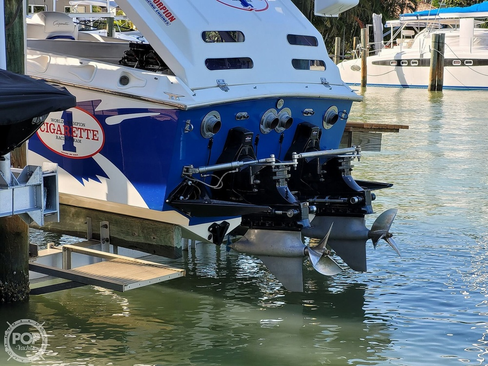 1996 Cigarette boat for sale, model of the boat is Top Gun & Image # 12 of 40