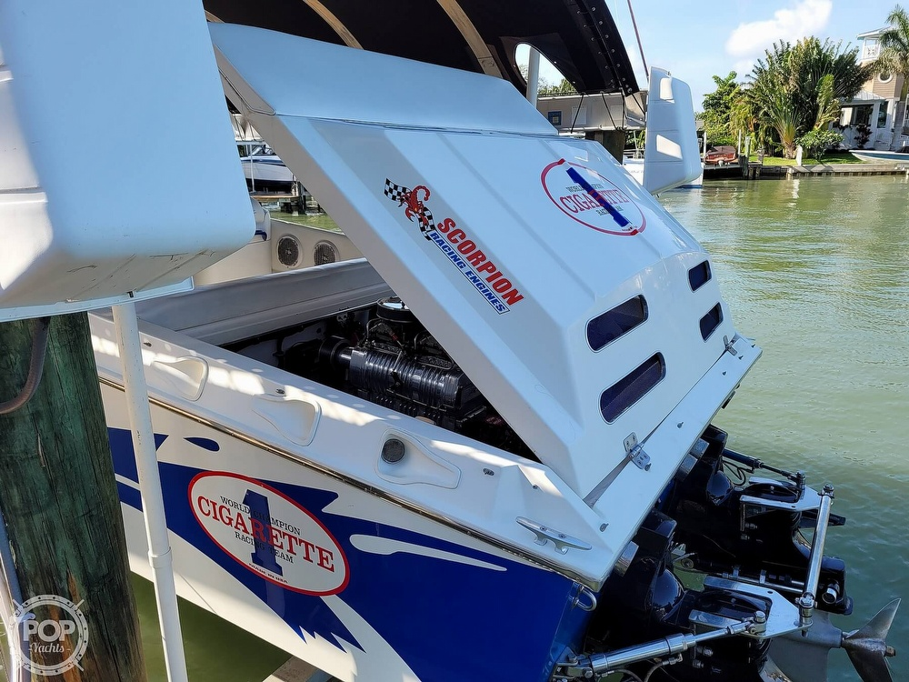 1996 Cigarette boat for sale, model of the boat is Top Gun & Image # 20 of 40