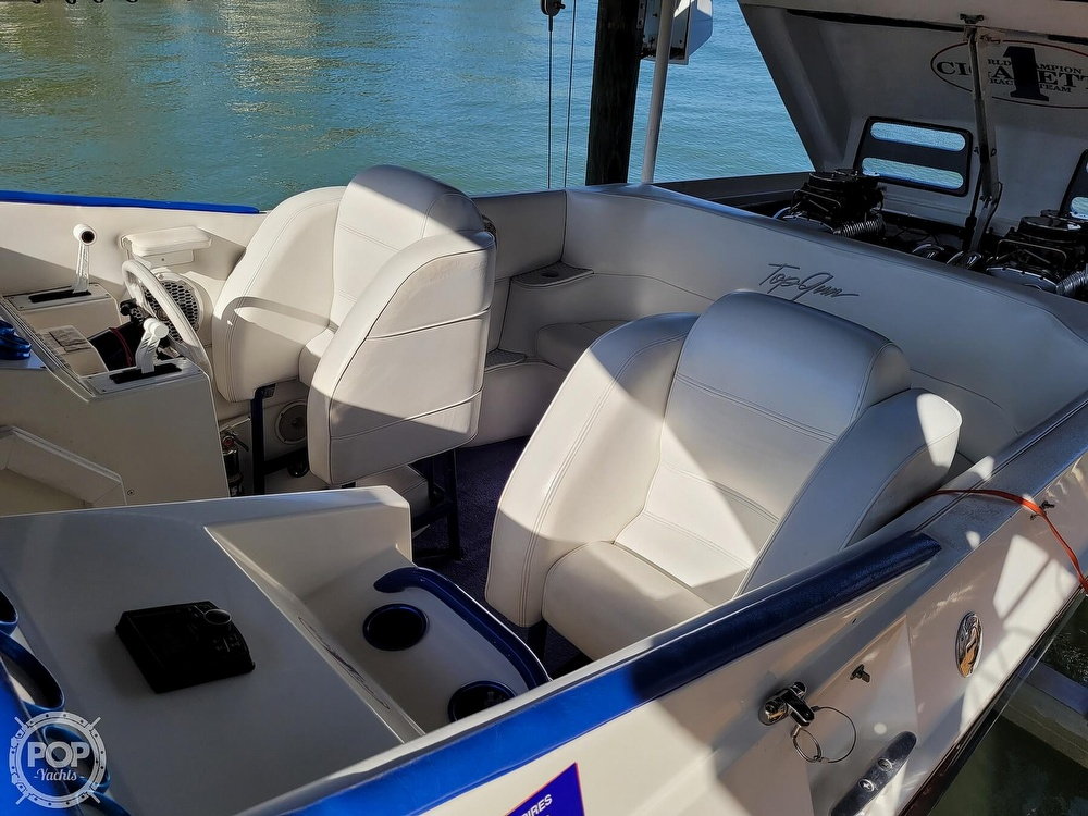 1996 Cigarette boat for sale, model of the boat is Top Gun & Image # 25 of 40