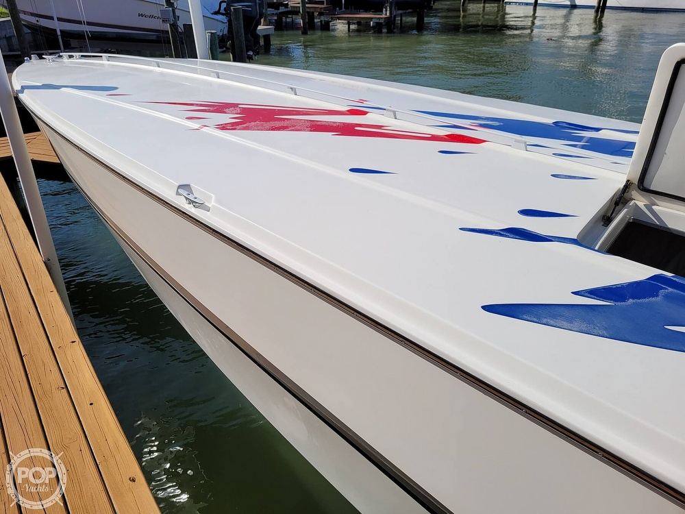 1996 Cigarette boat for sale, model of the boat is Top Gun & Image # 26 of 40