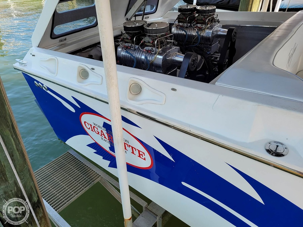 1996 Cigarette boat for sale, model of the boat is Top Gun & Image # 36 of 40