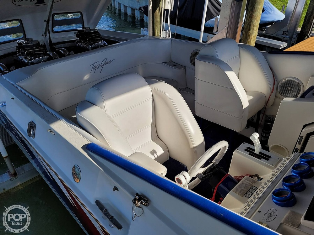1996 Cigarette boat for sale, model of the boat is Top Gun & Image # 38 of 40