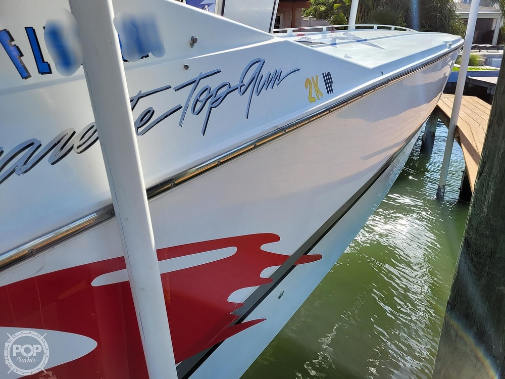 1996 Cigarette boat for sale, model of the boat is Top Gun & Image # 39 of 40