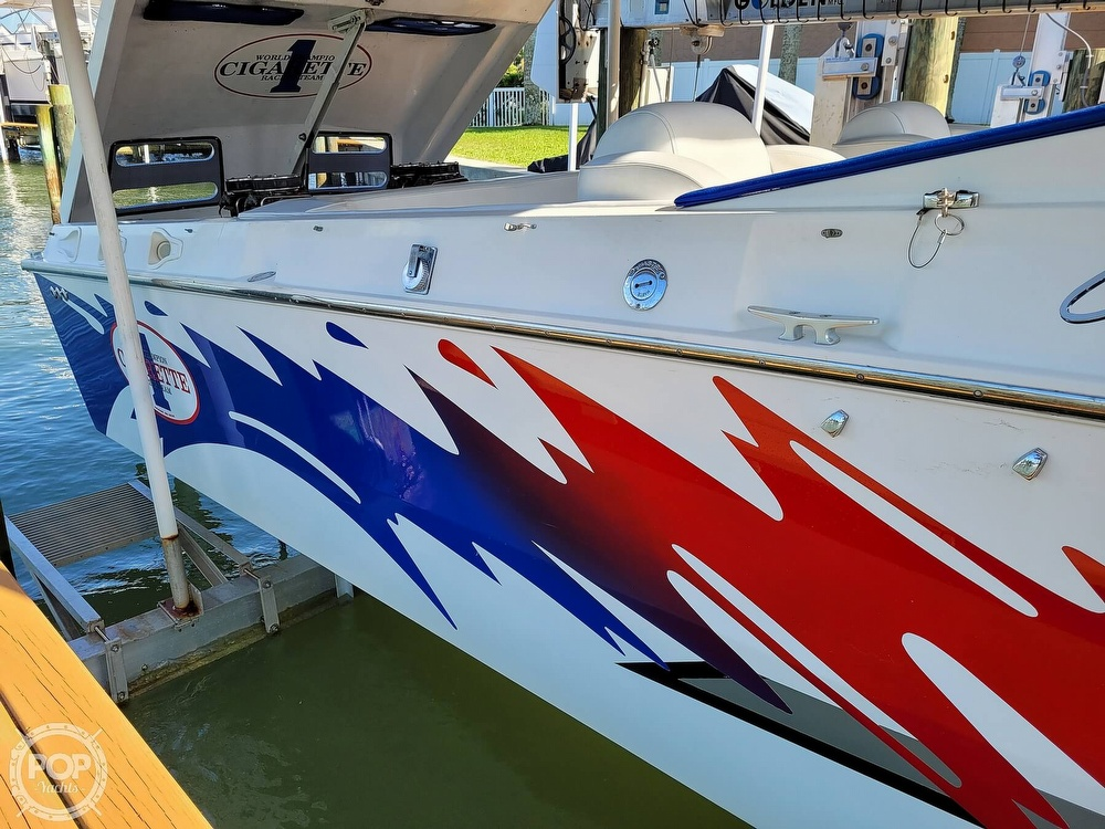 1996 Cigarette boat for sale, model of the boat is Top Gun & Image # 40 of 40