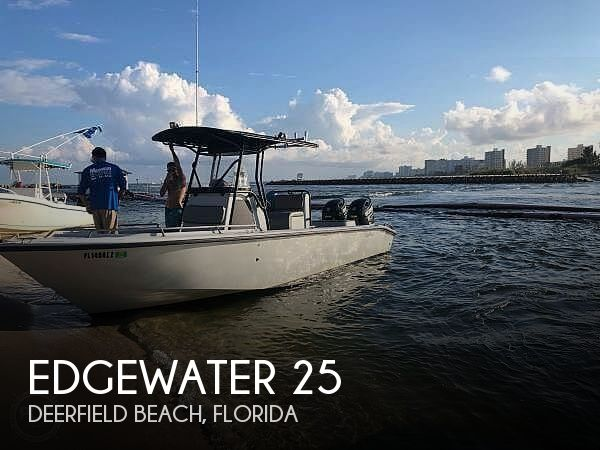 Used Edgewater Boats For Sale by owner | 2003 Edgewater 25