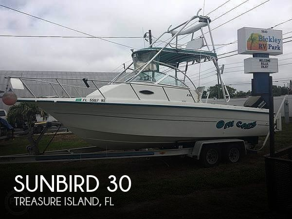 Used Sunbird Boats For Sale by owner | 1998 Sunbird 30