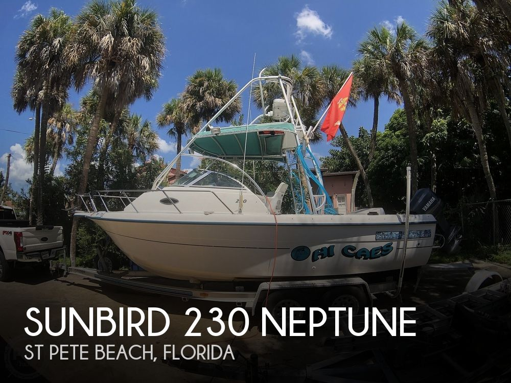 1998 Sunbird boat for sale, model of the boat is 230 Neptune & Image # 1 of 40