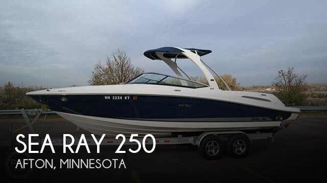 Used Boats For Sale in Minnesota by owner | 2011 Sea Ray 250