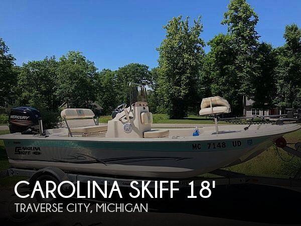 Used Carolina Skiff Boats For Sale in Michigan by owner | 2017 Carolina Skiff JVX 18
