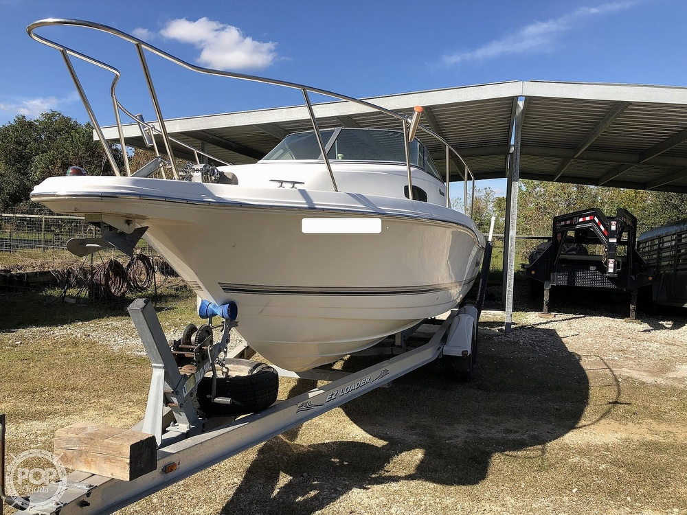 2002 Wellcraft boat for sale, model of the boat is 24 Walkaround & Image # 5 of 40