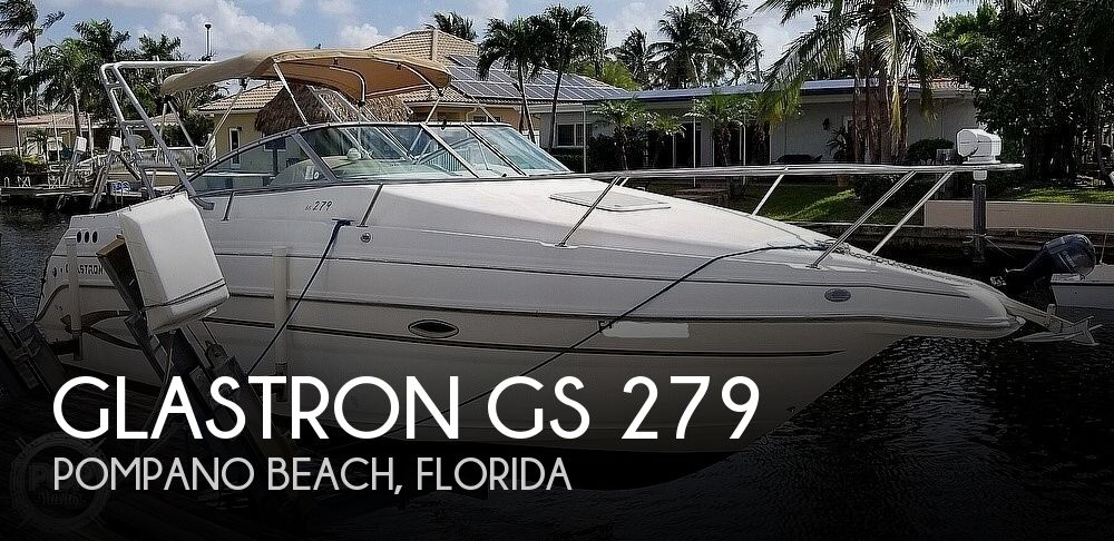 2002 Glastron boat for sale, model of the boat is GS 279 & Image # 1 of 40