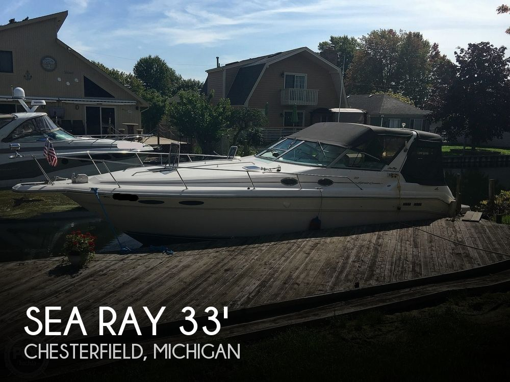 Used Sea Ray Boats For Sale in Michigan by owner | 1995 Sea Ray 330 Sundancer