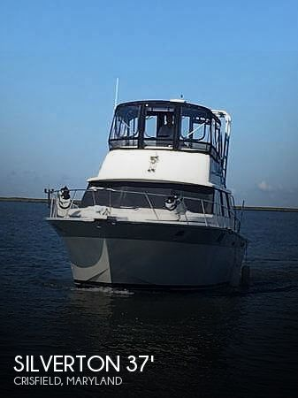 Used Silverton Boats For Sale in Maryland by owner | 1988 Silverton 37