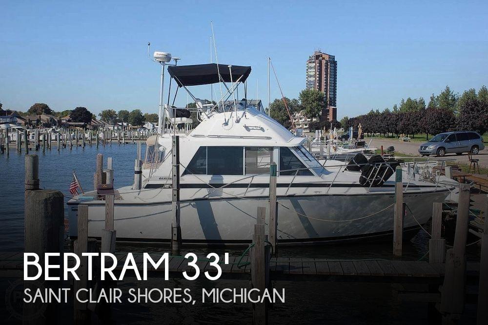 Used BERTRAM Boats For Sale in Michigan by owner | 1978 Bertram 33 Flybridge Cruiser
