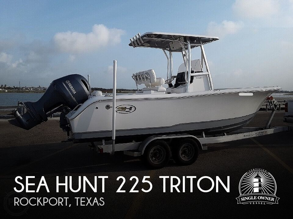 Used Boats For Sale in Corpus Christi, Texas by owner | 2018 Sea Hunt 225 Triton