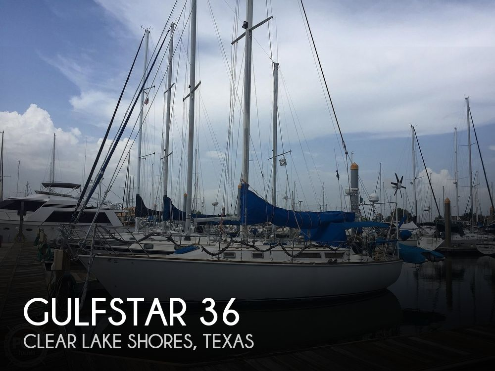 Used Sailboats For Sale in Houston, Texas by owner | 1983 Gulfstar 36