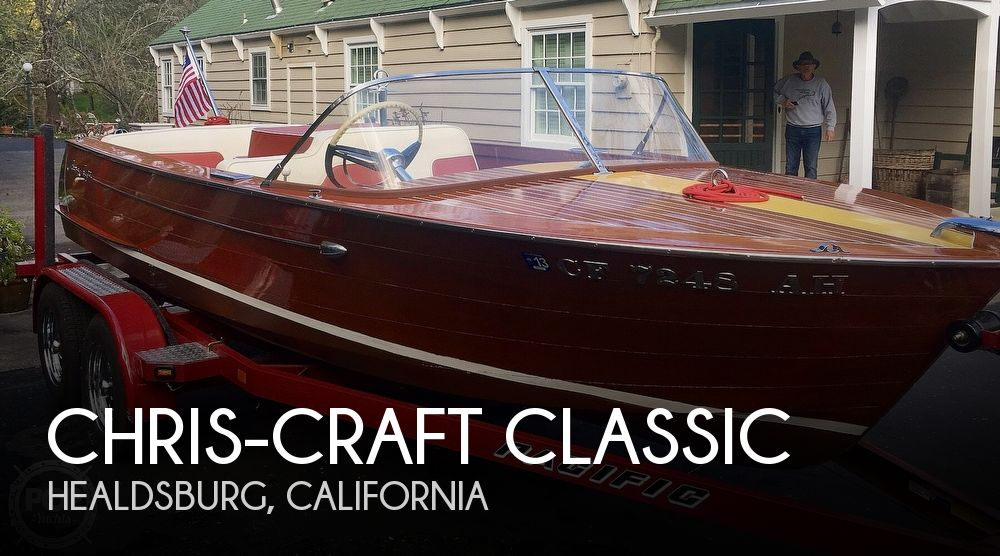 Used Chris-Craft Boats For Sale in California by owner | 1959 17 foot Chris-Craft Classic