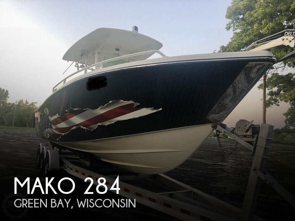 Used Boats For Sale in Appleton, Wisconsin by owner | 2017 Mako 284
