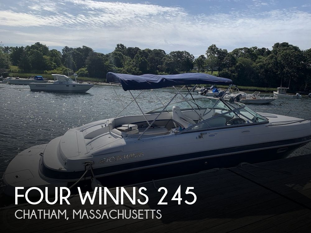 Used Four Winns 24 Boats For Sale by owner | 2003 Four Winns 245 Sundowner