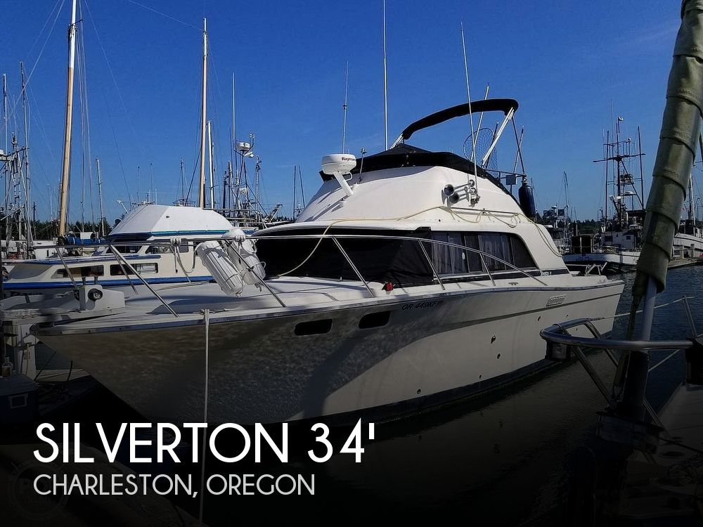 1979 Silverton boat for sale, model of the boat is 34 Convertible & Image # 1 of 24