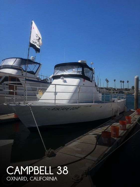 Used Fishing boats For Sale in California by owner | 1976 Campbell 40 Sport
