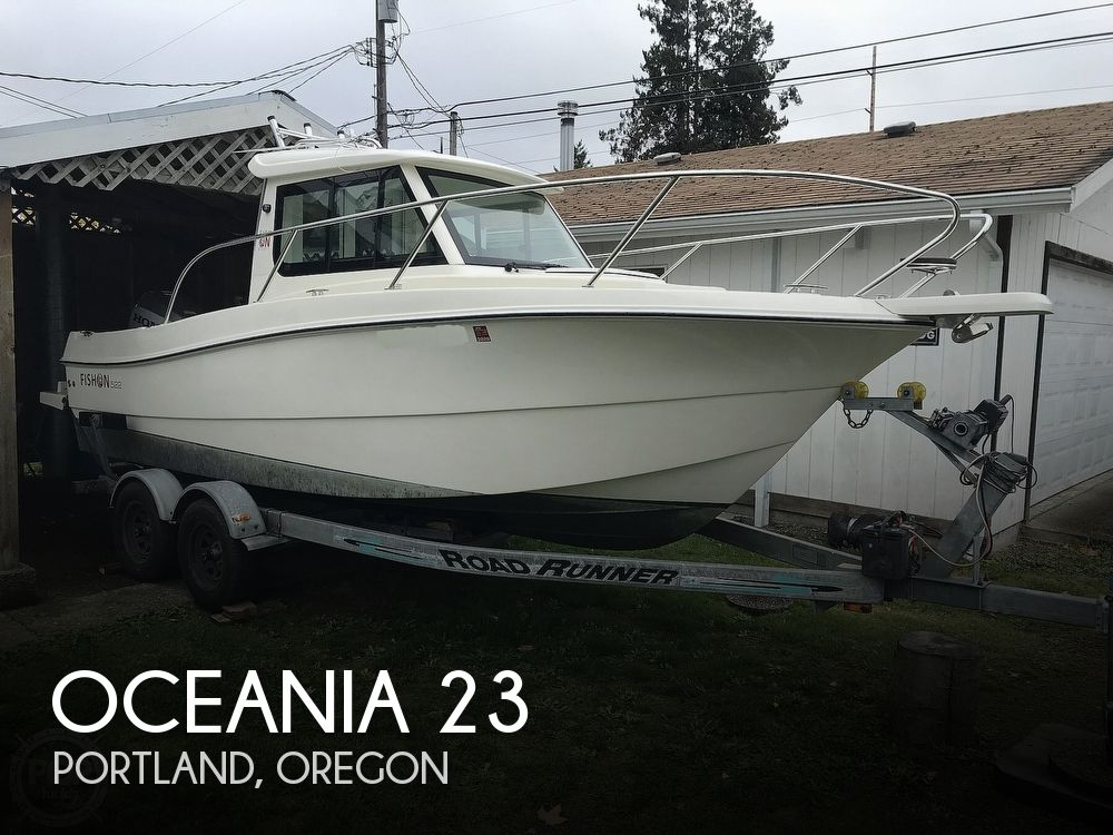 2016 Oceania boat for sale, model of the boat is 23 WA & Image # 1 of 40