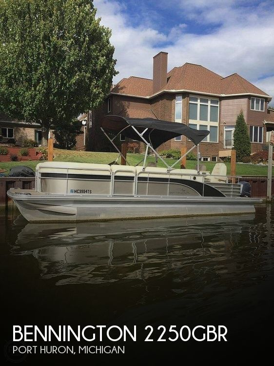 Used Pontoon Boats For Sale in Michigan by owner | 2014 Bennington 2250QBR