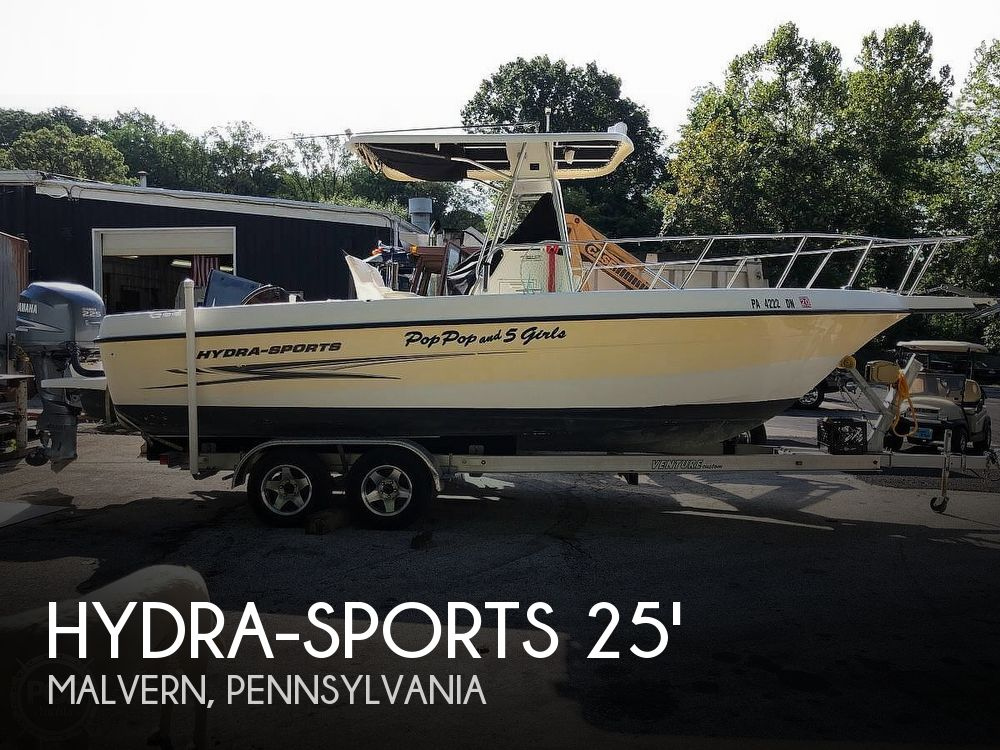 Used Ski Boats For Sale in Lancaster, Pennsylvania by owner | 2005 Hydra-Sports Lightning 230