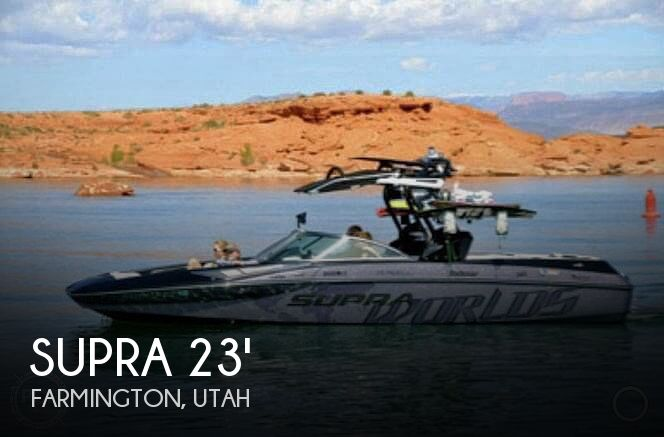 Used Boats For Sale in Ogden, Utah by owner | 2013 Supra Sa 450 Worlds