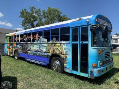 2007 Bluebird 30 tour bus - #1