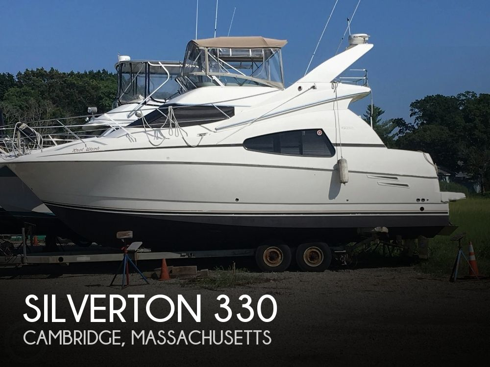 Used Silverton Fishing boats For Sale by owner | 2002 Silverton 330 Sports Bridge