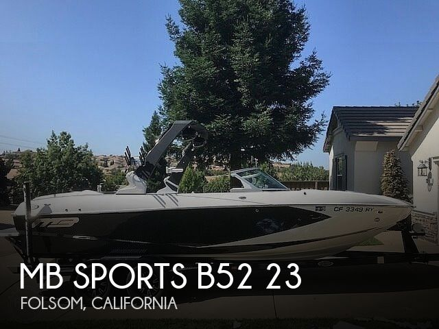 Used Ski Boats For Sale in California by owner   2018 MB Sports B52