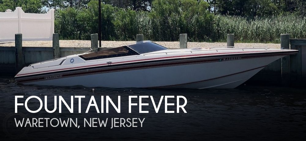 Used Fountain Boats For Sale by owner | 1991 27 foot Fountain Fever