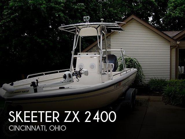 Used Skeeter Boats For Sale in Ohio by owner | 2002 Skeeter ZX2400