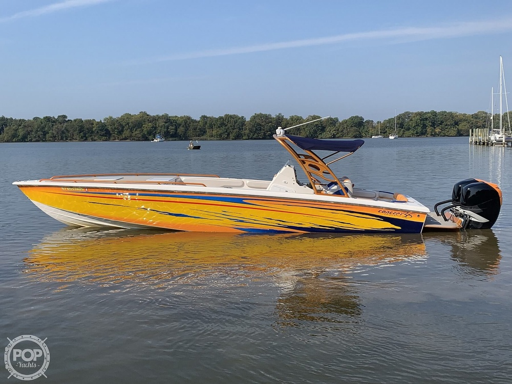2005 Concept Marine boat for sale, model of the boat is 36 CC & Image # 40 of 40
