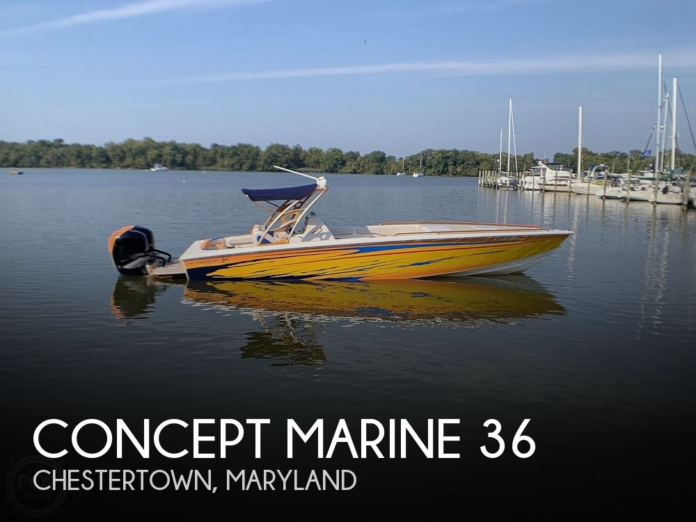 2005 Concept Marine boat for sale, model of the boat is 36 CC & Image # 1 of 40