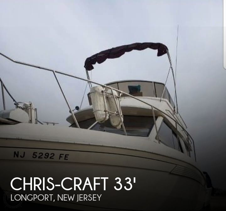 Used Power boats For Sale by owner | 1986 Chris-Craft 338 Commander