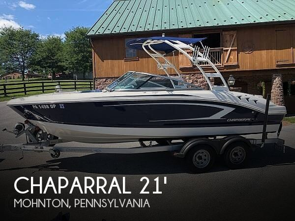 Used Boats For Sale in Allentown, Pennsylvania by owner | 2015 Chaparral H2O 21 Sport