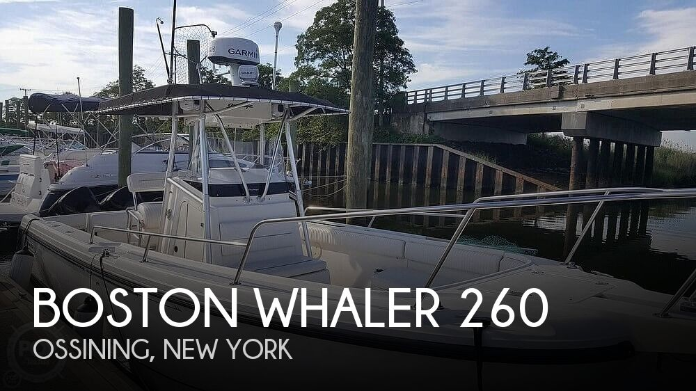 Used Boston Whaler Boats For Sale in New York by owner | 2002 Boston Whaler 260 Outrage